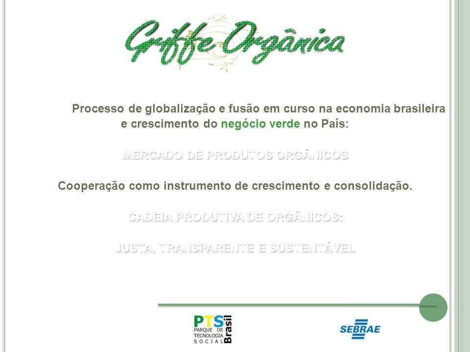 Processo de globalização e fusão em curso na economia brasileira