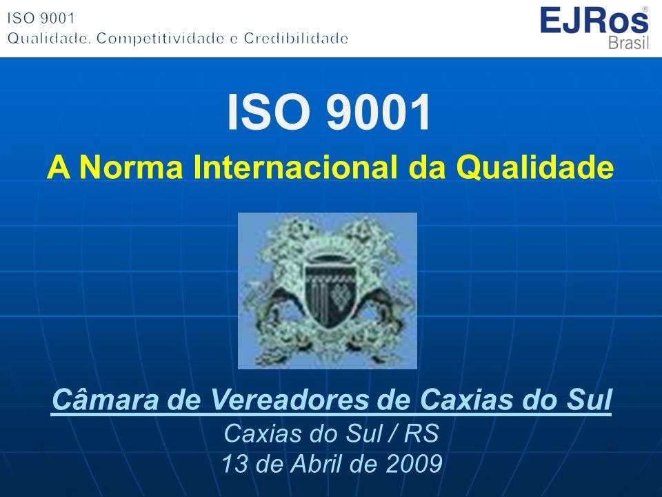 ISO 9001 A Norma Internacional da Qualidade