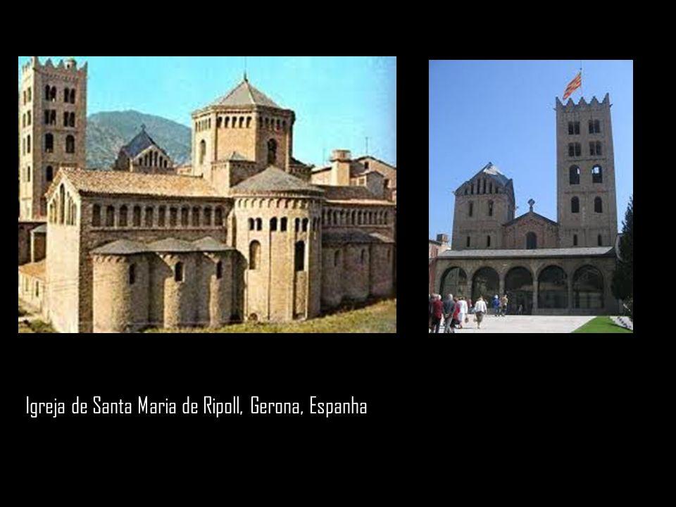 Igreja de Santa Maria de Ripoll, Gerona, Espanha