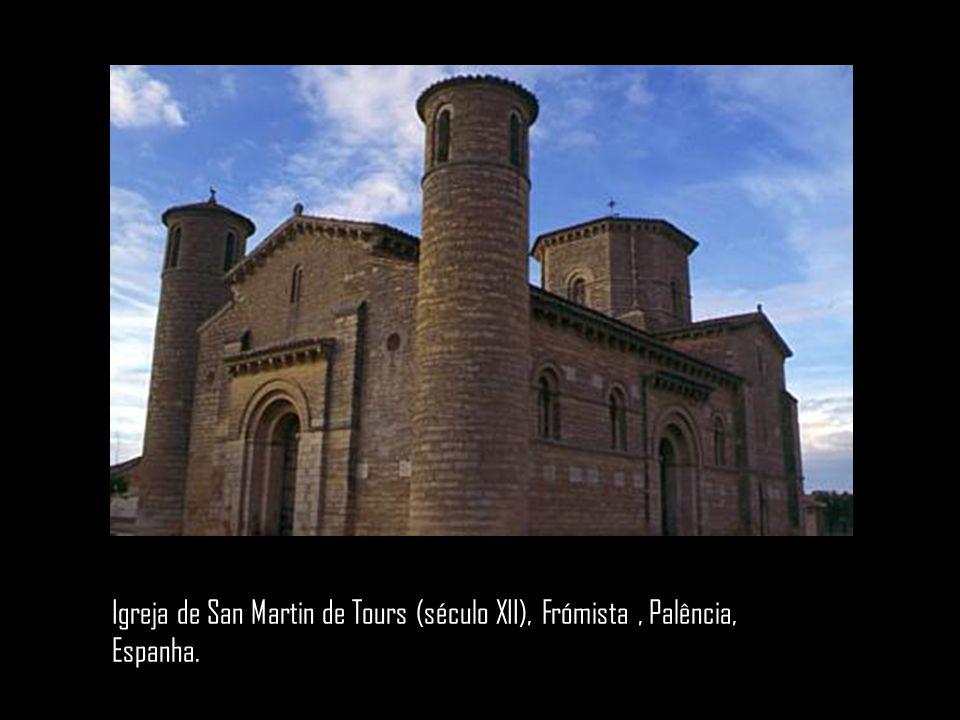 Igreja de San Martin de Tours (século XII), Frómista , Palência, Espanha.