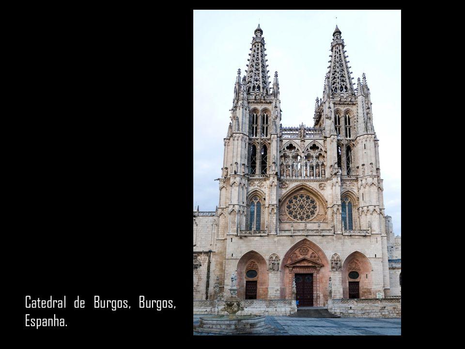 Catedral de Burgos, Burgos, Espanha.
