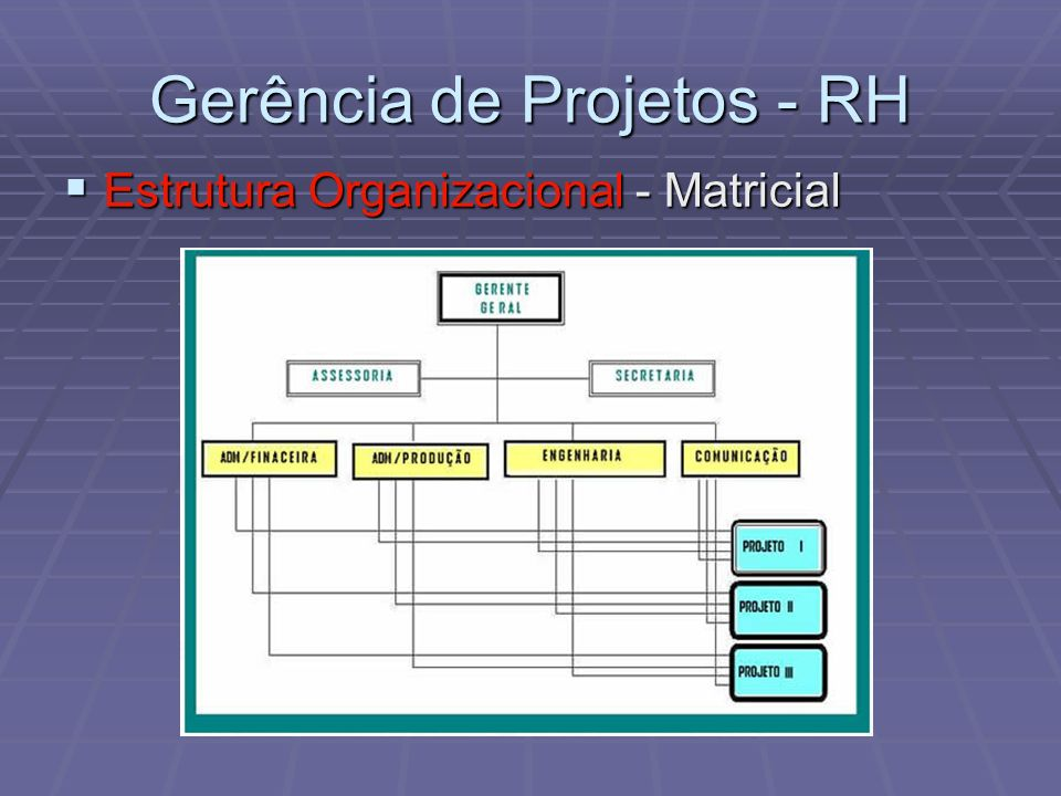 Gerência de Projetos - RH
