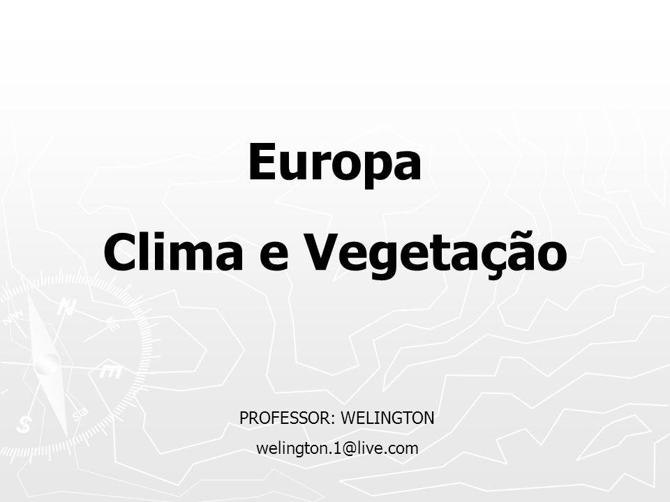 Europa Clima e Vegetação