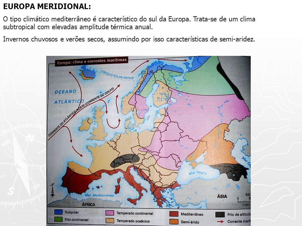 EUROPA MERIDIONAL: