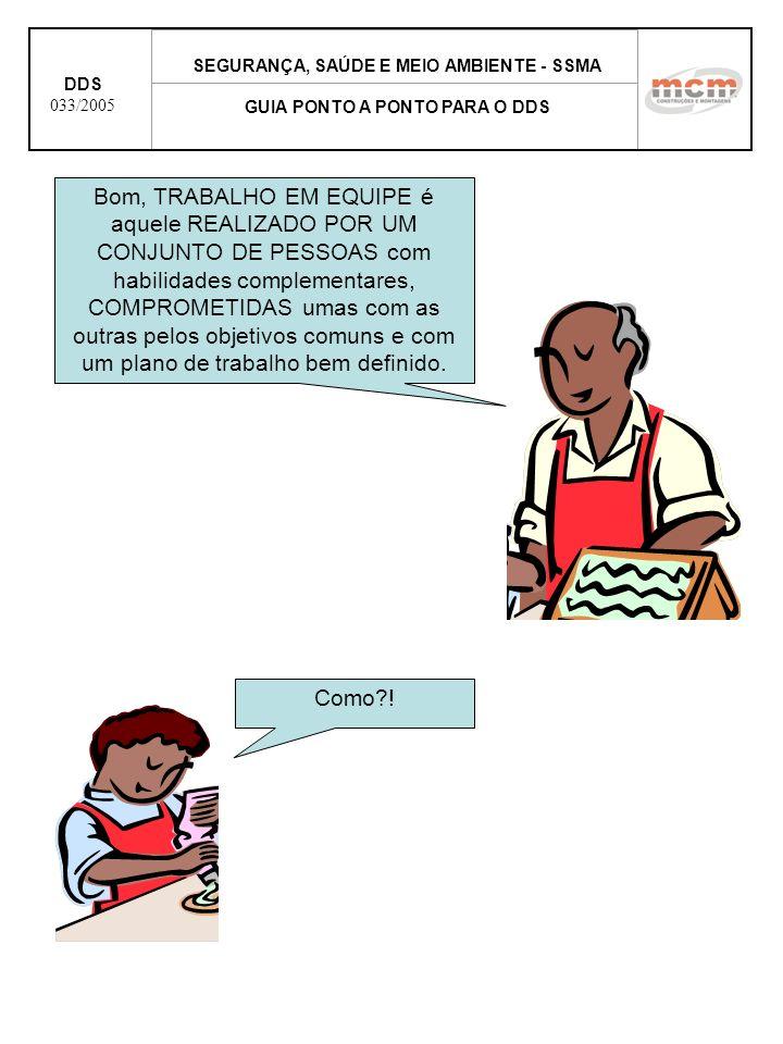 SEGURANÇA, SAÚDE E MEIO AMBIENTE - SSMA GUIA PONTO A PONTO PARA O DDS