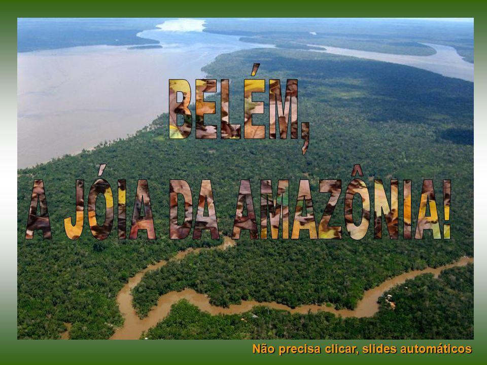 BELÉM, A JÓIA DA AMAZÔNIA! Não precisa clicar, slides automáticos