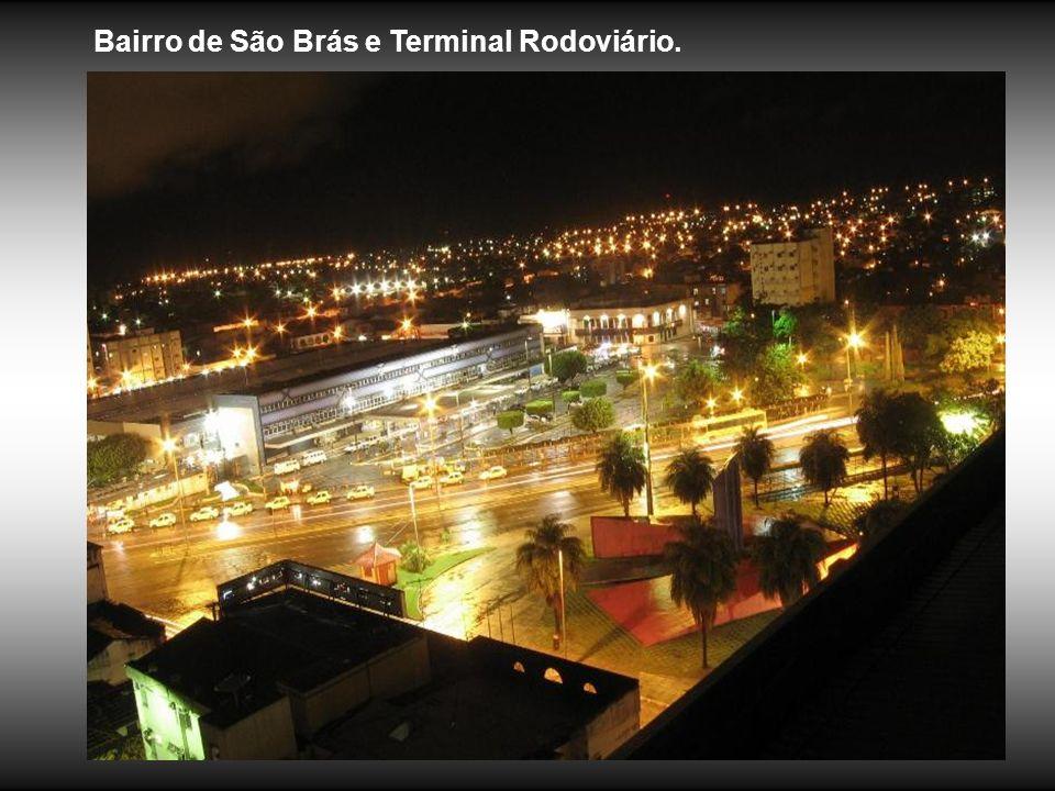 Bairro de São Brás e Terminal Rodoviário.