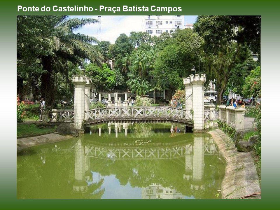 Ponte do Castelinho - Praça Batista Campos