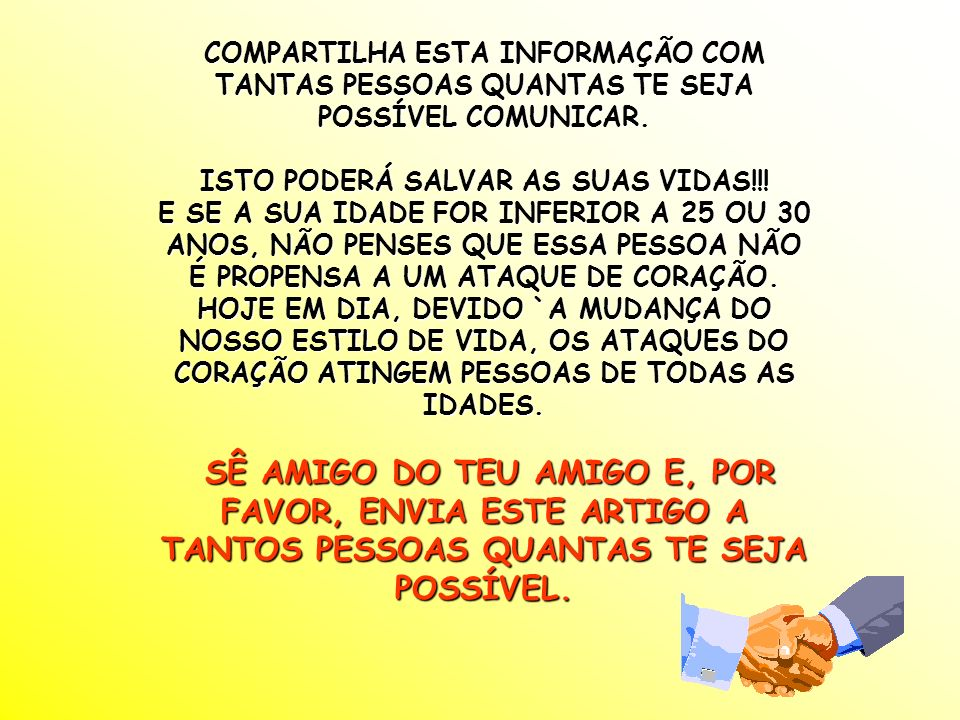 ISTO PODERÁ SALVAR AS SUAS VIDAS!!!