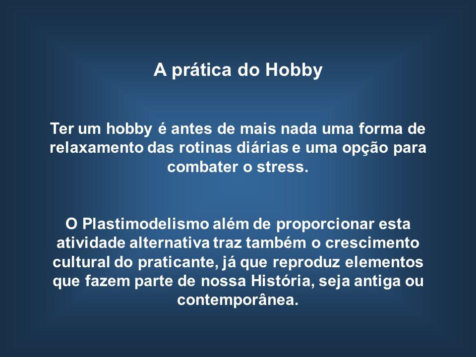 A prática do Hobby Ter um hobby é antes de mais nada uma forma de relaxamento das rotinas diárias e uma opção para combater o stress.