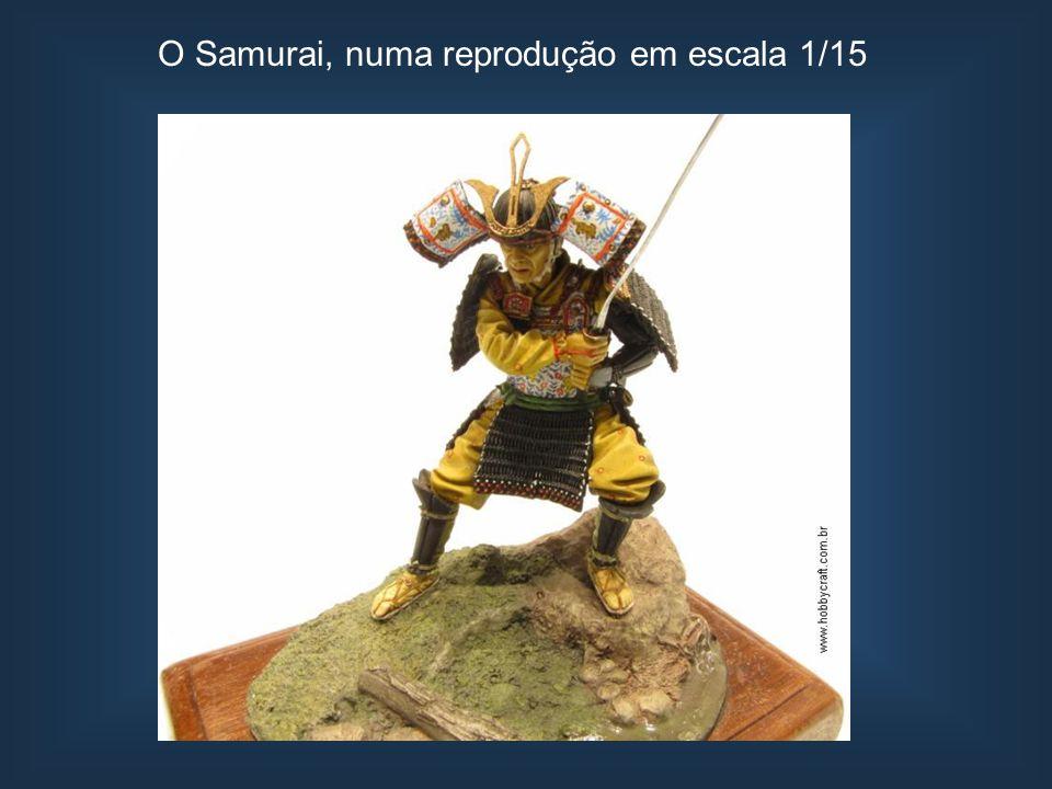 O Samurai, numa reprodução em escala 1/15
