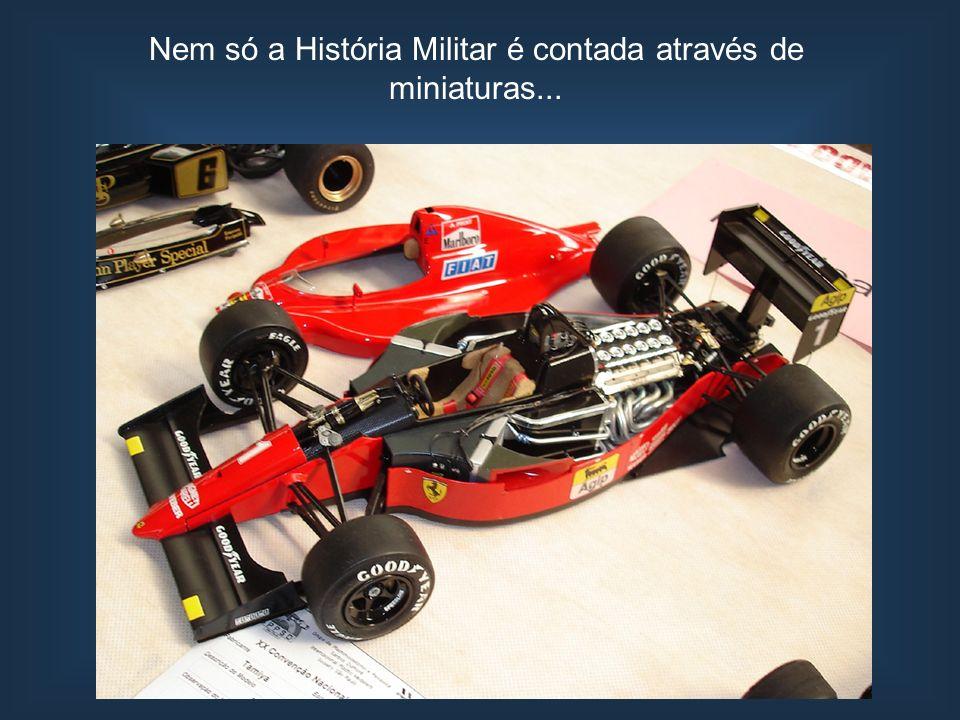 Nem só a História Militar é contada através de miniaturas...