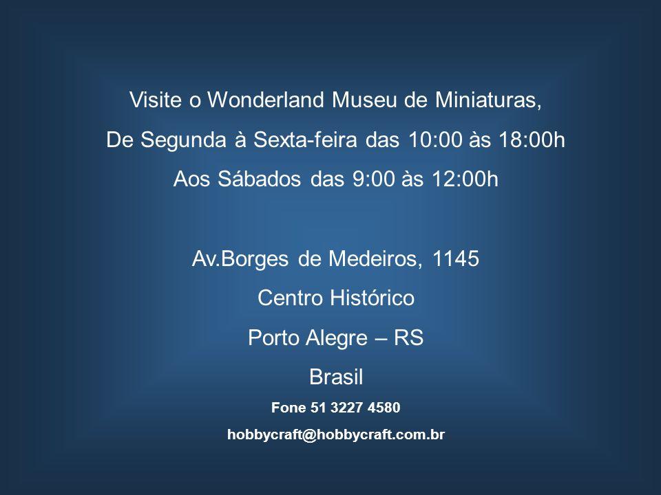Visite o Wonderland Museu de Miniaturas,