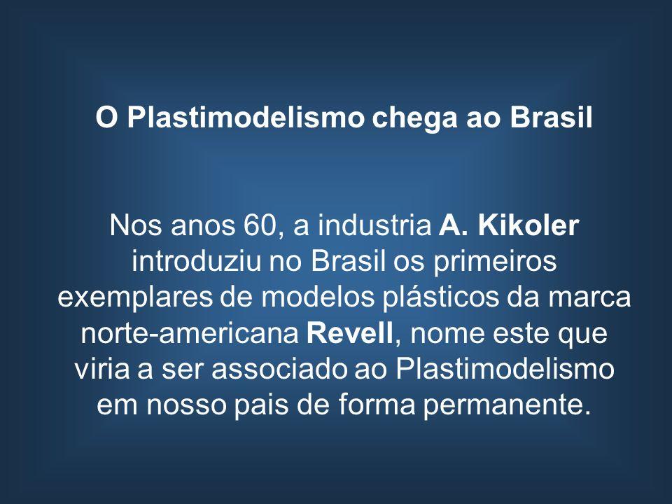 O Plastimodelismo chega ao Brasil