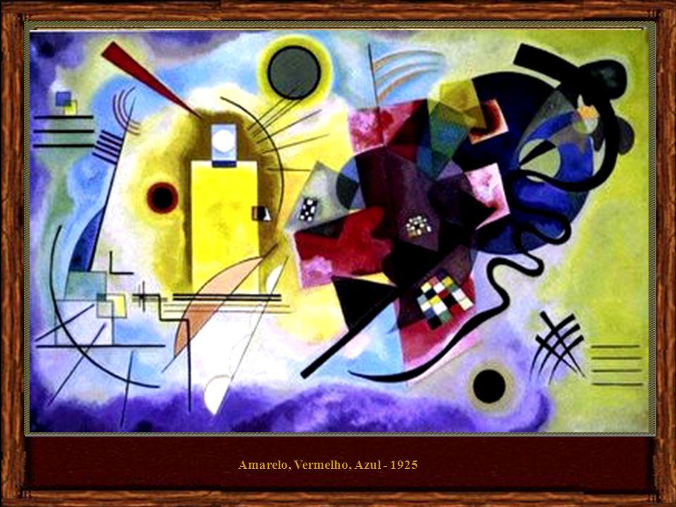 Amarelo, Vermelho, Azul - 1925