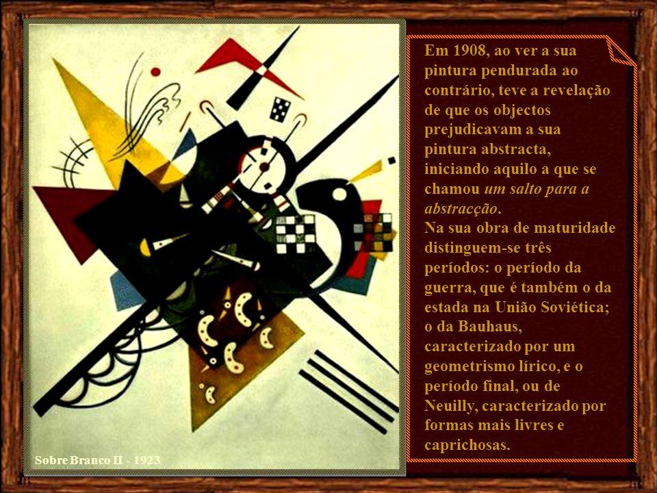 Sobre Branco II - 1923