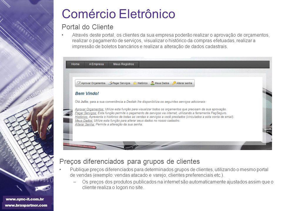 Comércio Eletrônico Portal do Cliente