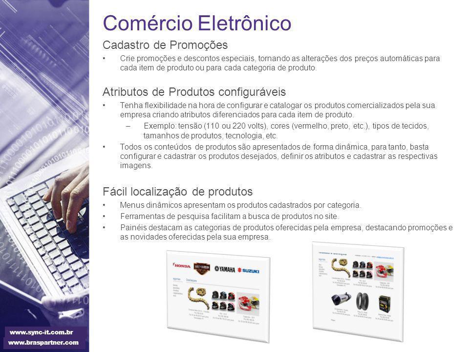 Comércio Eletrônico Cadastro de Promoções