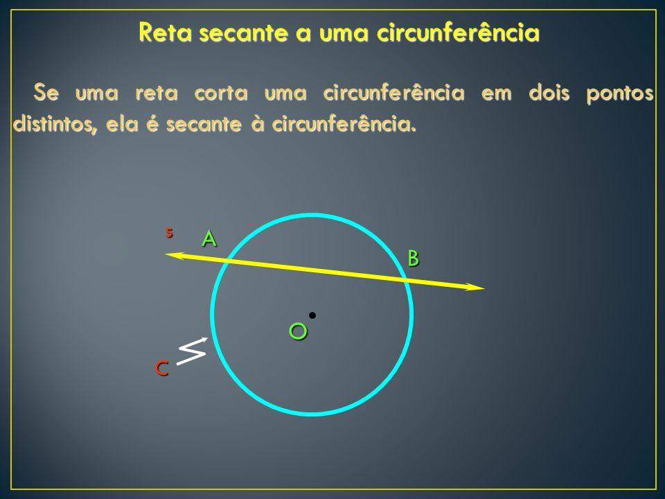 Reta secante a uma circunferência