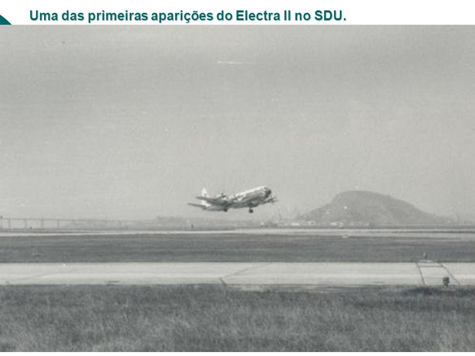 Uma das primeiras aparições do Electra II no SDU.