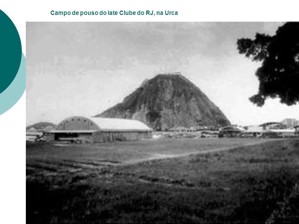 Campo de pouso do Iate Clube do RJ, na Urca