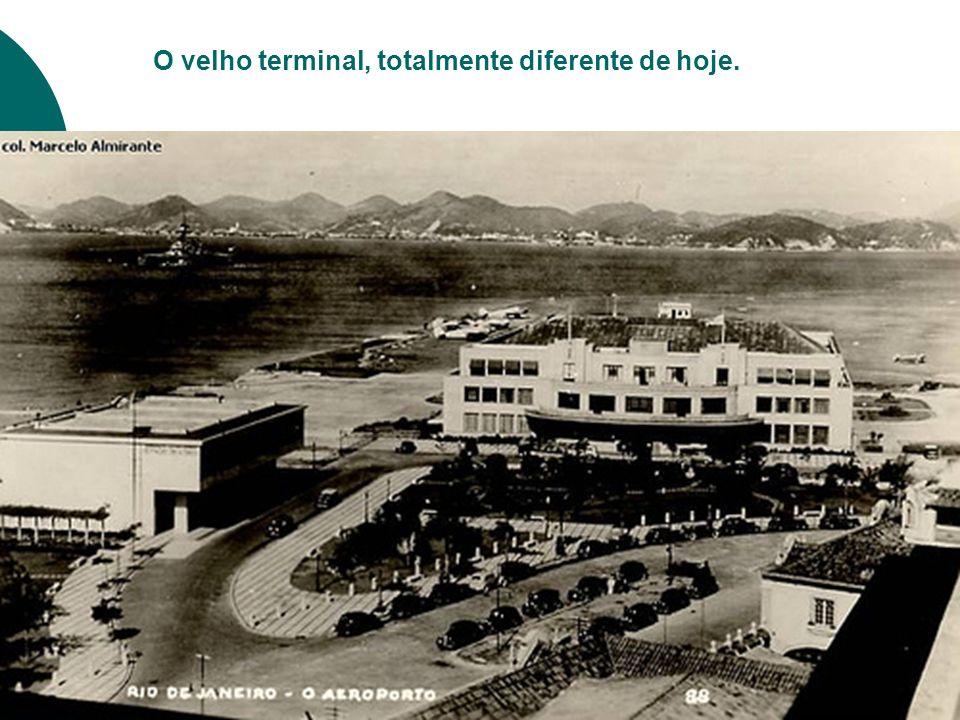 O velho terminal, totalmente diferente de hoje.