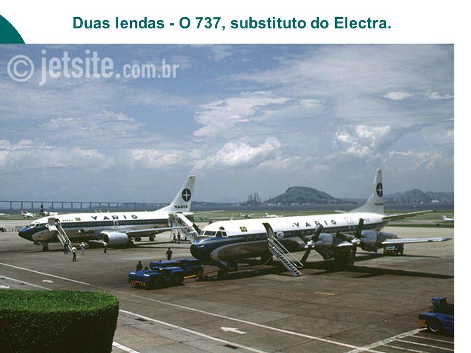 Duas lendas - O 737, substituto do Electra.