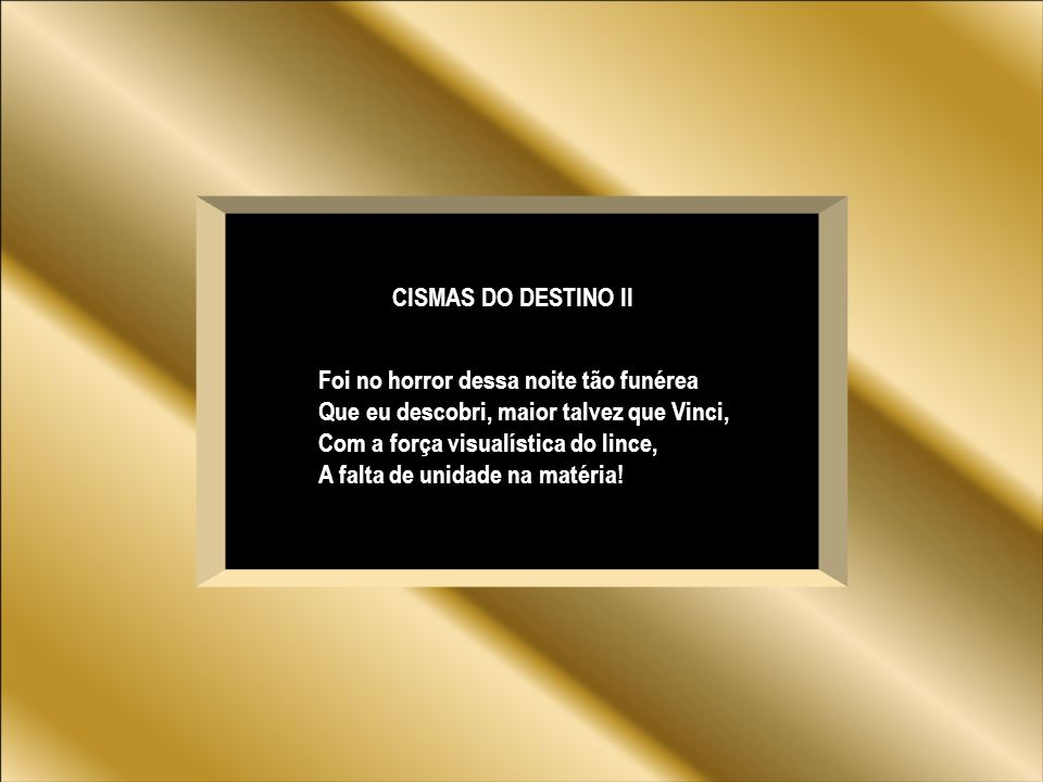 CISMAS DO DESTINO II