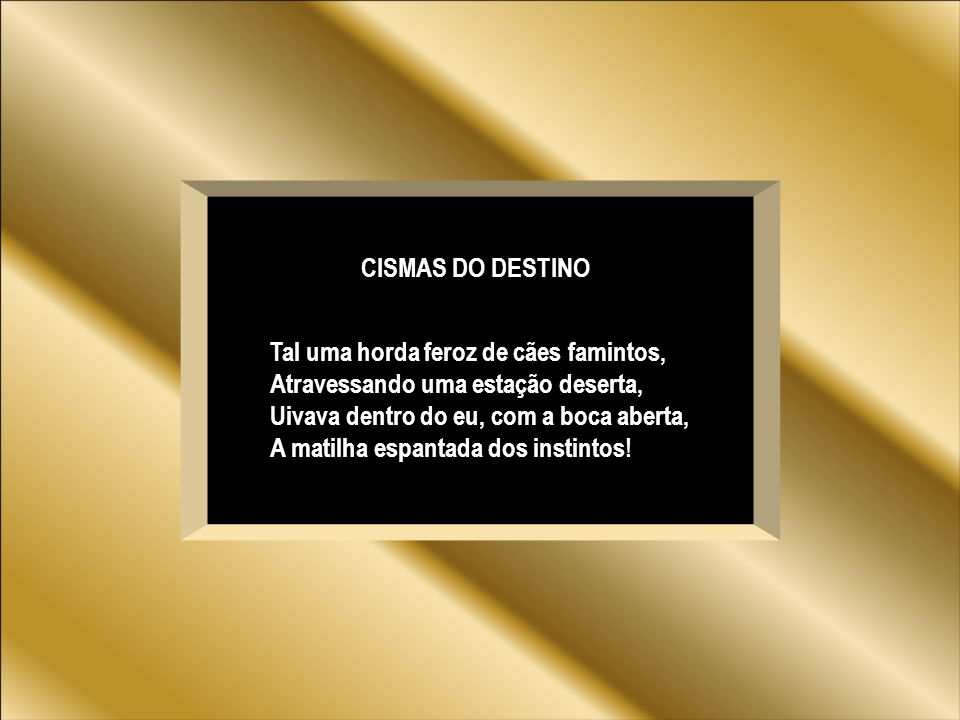CISMAS DO DESTINO
