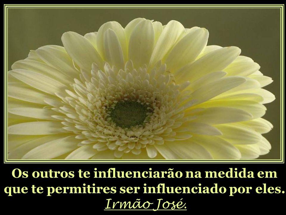 Os outros te influenciarão na medida em que te permitires ser influenciado por eles.
