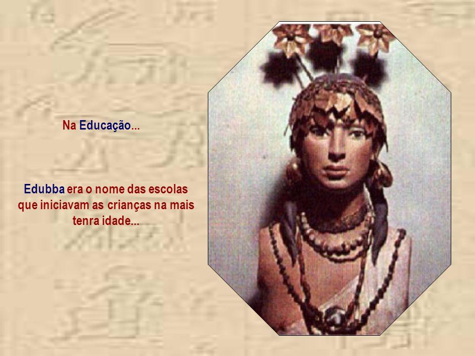 Edubba era o nome das escolas que iniciavam as crianças na mais