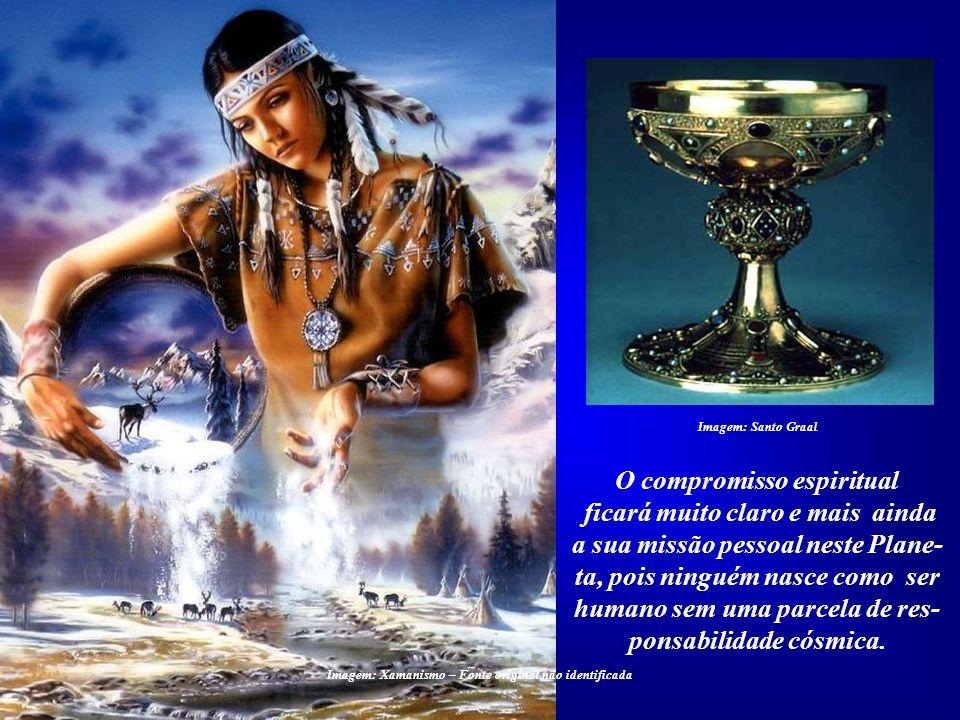 O compromisso espiritual ficará muito claro e mais ainda