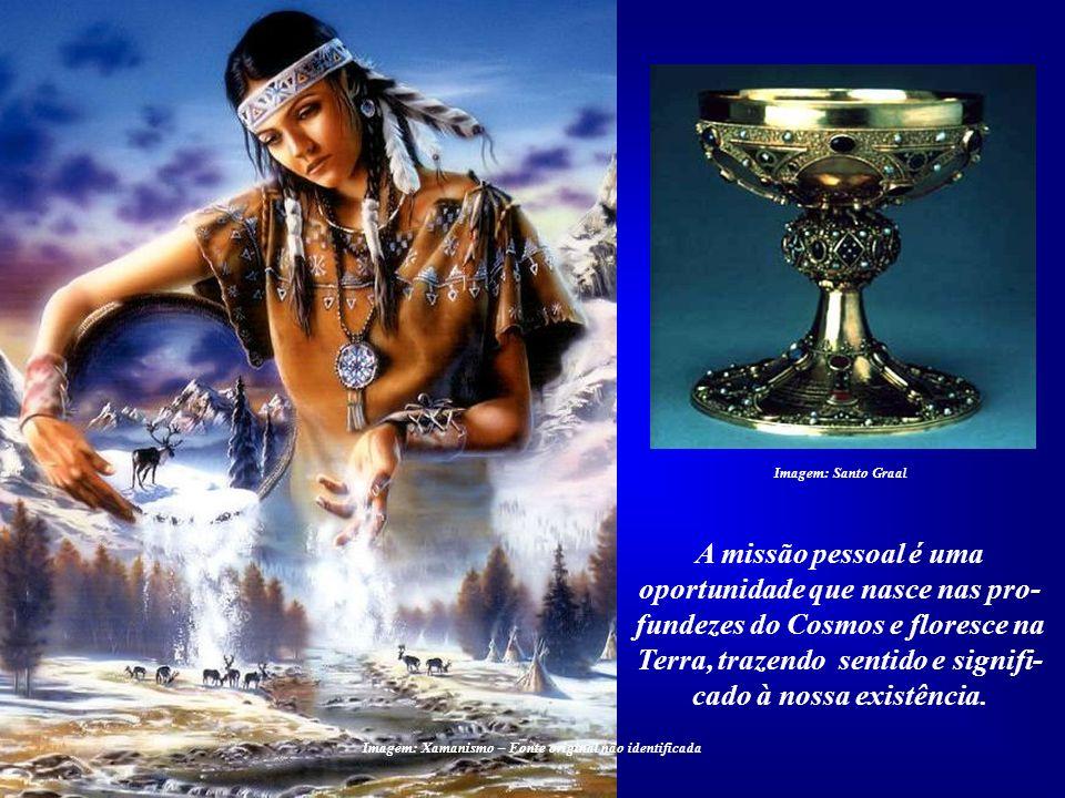 Imagem: Xamanismo – Fonte original não identificada