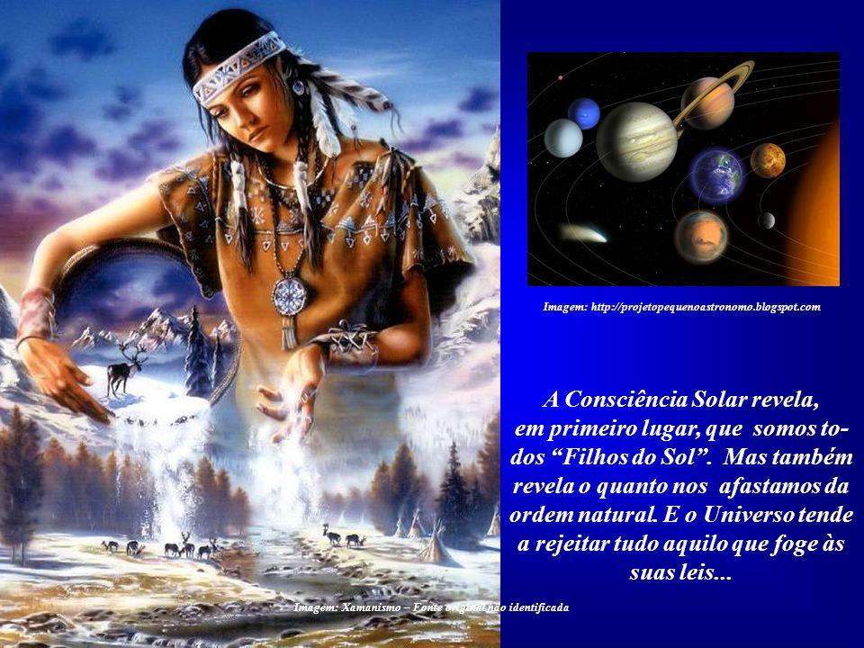A Consciência Solar revela,