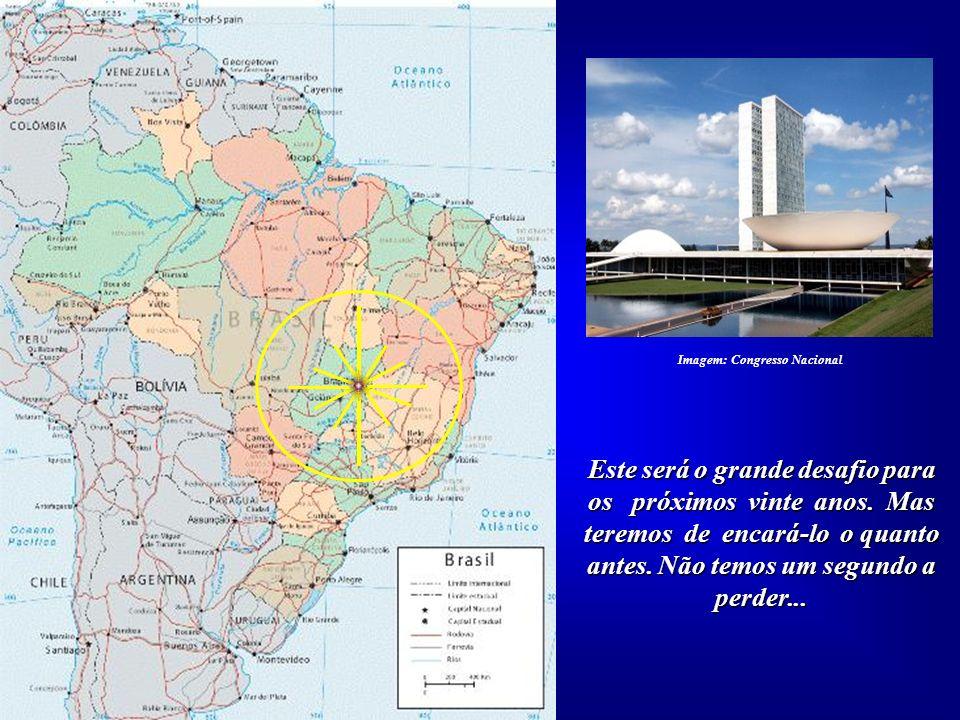 Imagem: Congresso Nacional Este será o grande desafio para