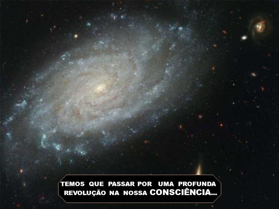 TEMOS QUE PASSAR POR UMA PROFUNDA REVOLUÇÃO NA NOSSA CONSCIÊNCIA...
