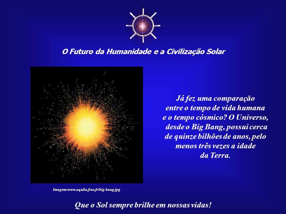 ☼ Já fez uma comparação entre o tempo de vida humana