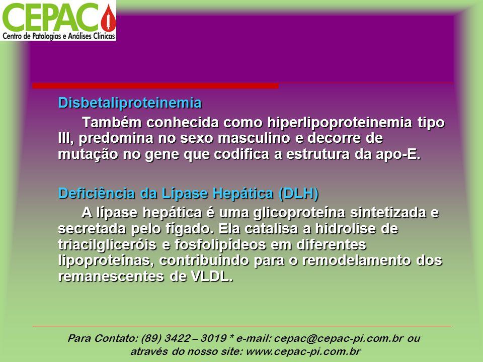 Disbetaliproteinemia