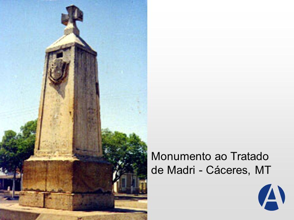 Monumento ao Tratado de Madri - Cáceres, MT