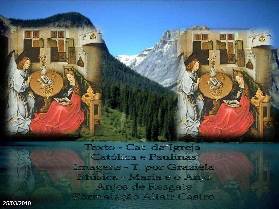 Imagens - T. por Graziela Música - Maria e o Anjo Anjos de Resgate