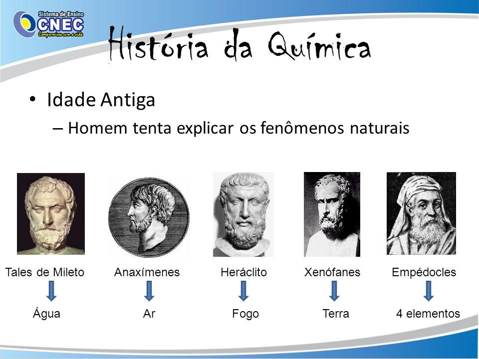 História da Química Idade Antiga