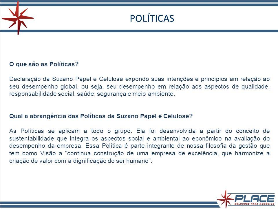 POLÍTICAS O que são as Políticas
