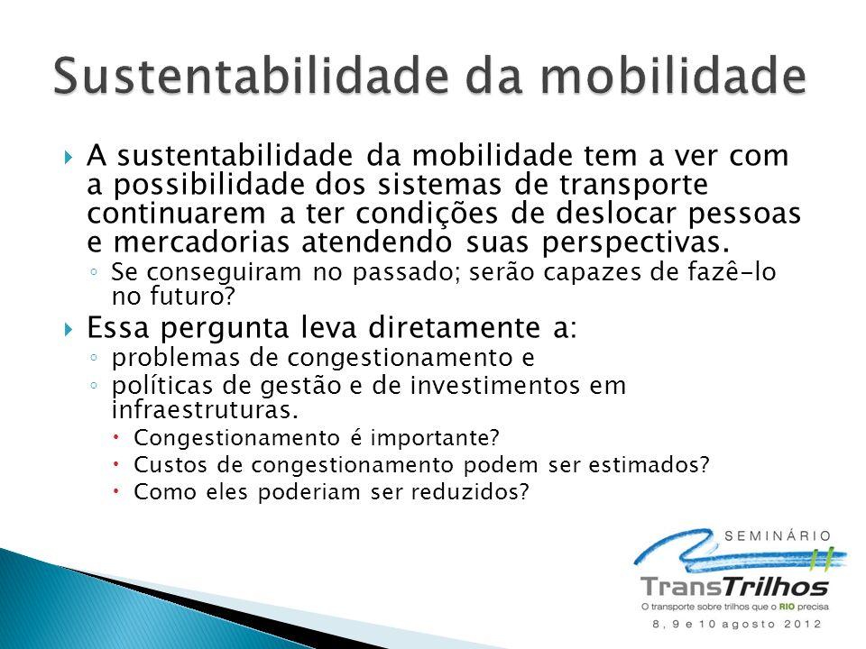 Sustentabilidade da mobilidade