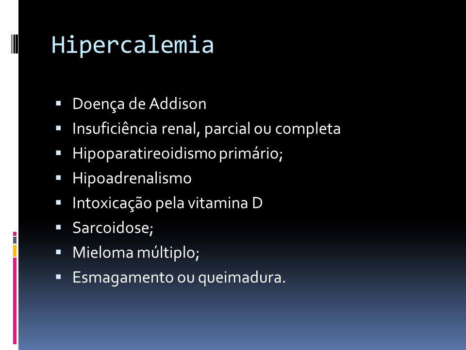 Hipercalemia Doença de Addison