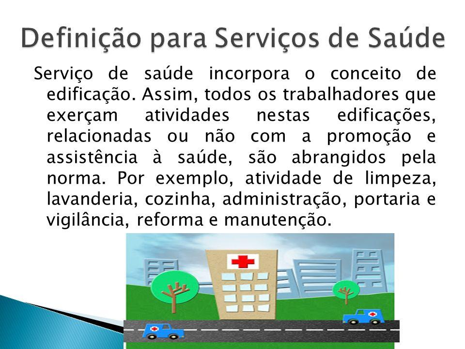 Definição para Serviços de Saúde