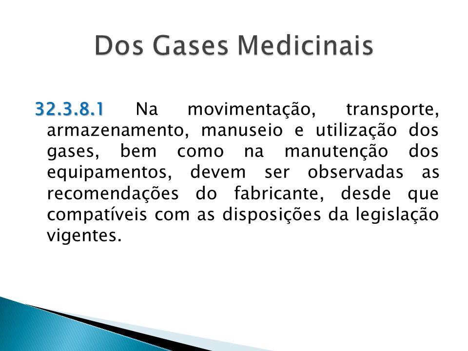 Dos Gases Medicinais