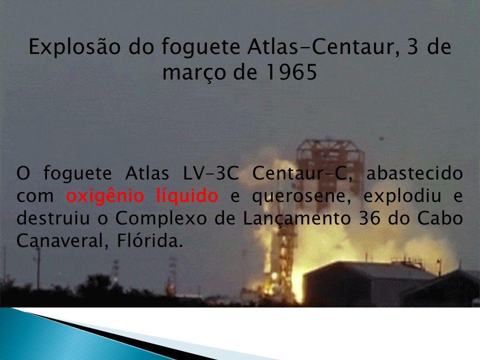 Explosão do foguete Atlas-Centaur, 3 de março de 1965