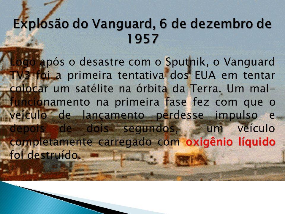 Explosão do Vanguard, 6 de dezembro de 1957