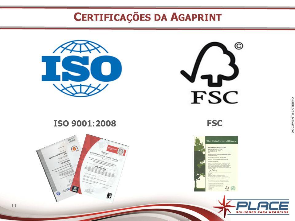 Certificações da Agaprint