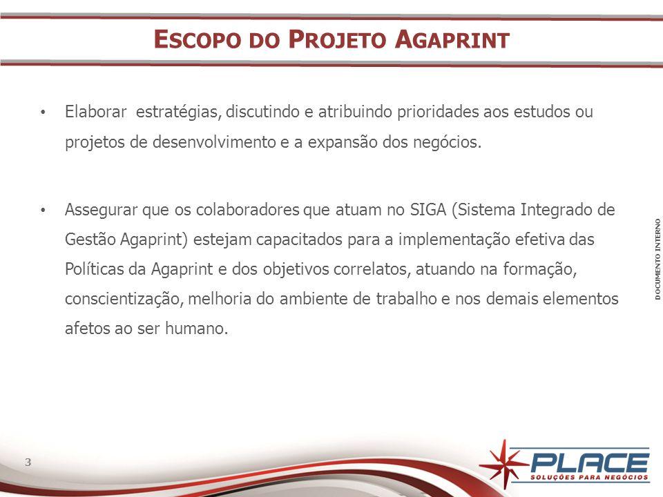 Escopo do Projeto Agaprint